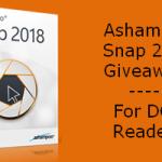 Ashampoo Snap 2018 Giveaway