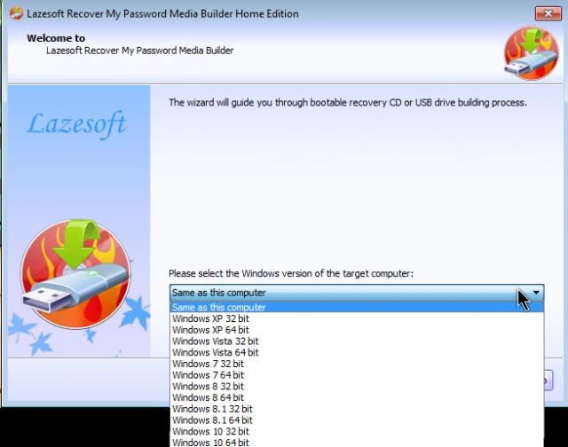 select-windows-version