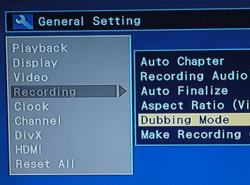 toshiba-recording-dubbing-mode