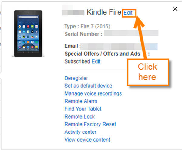 How To Change Kindle Fire Device Name | Daves Computer Tips