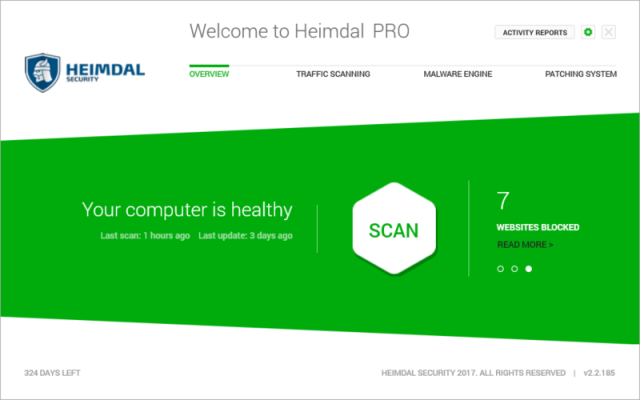 heimdal-user-overview-screen