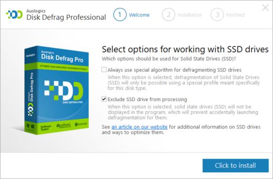 auslogics-defrag-pro-ssd-options