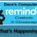 Giveaways & Contests Reminder (Week 1418)