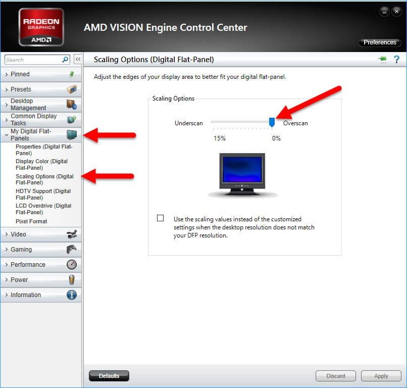 How To Fix Legacy AMD GPU Underscan, Windows 10 | Daves