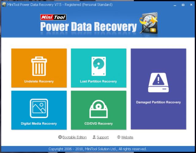 power-data-recovery-main-screen