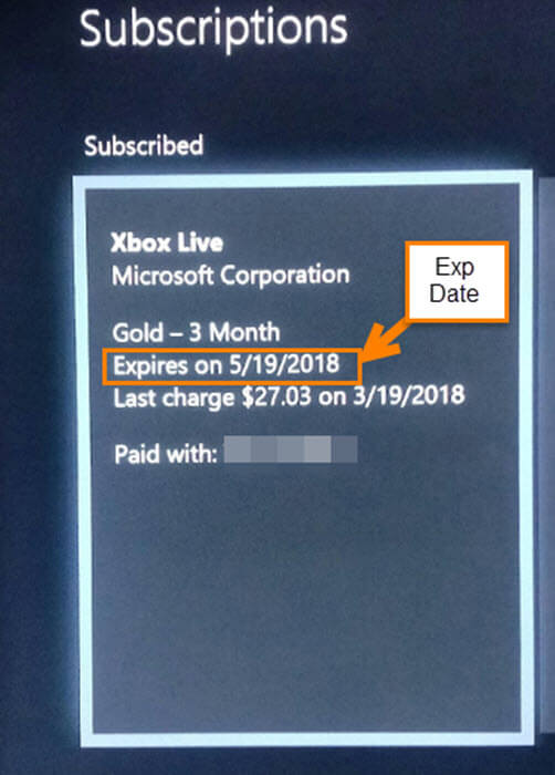 How To Check XBox Live Expiration | Daves Computer Tips