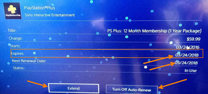 How to check psn plus expiration date online