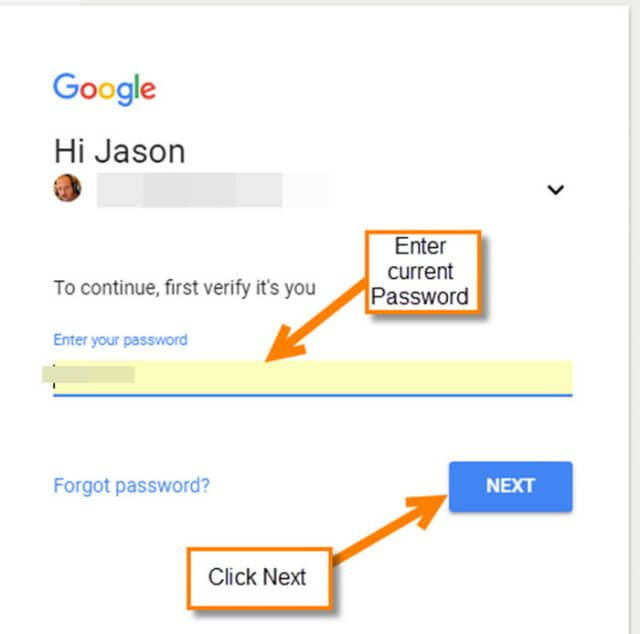 google-password-sign-in