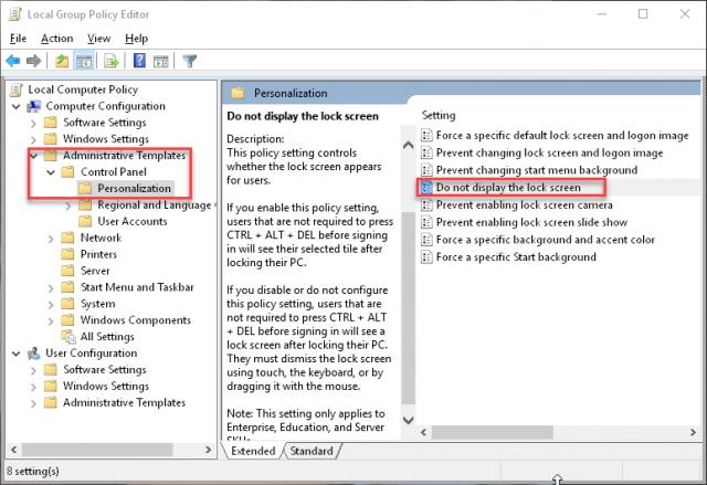 group-policy-editor-lock-screen-setting