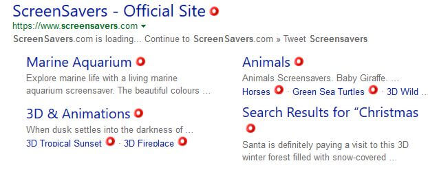 google-screensavers-search