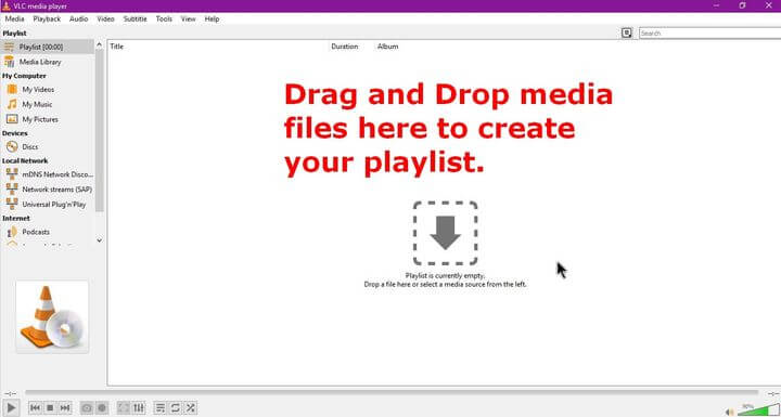 How To Create A Playlist In VLC | Daves Computer Tips