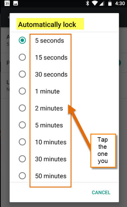 automatic-lock-options