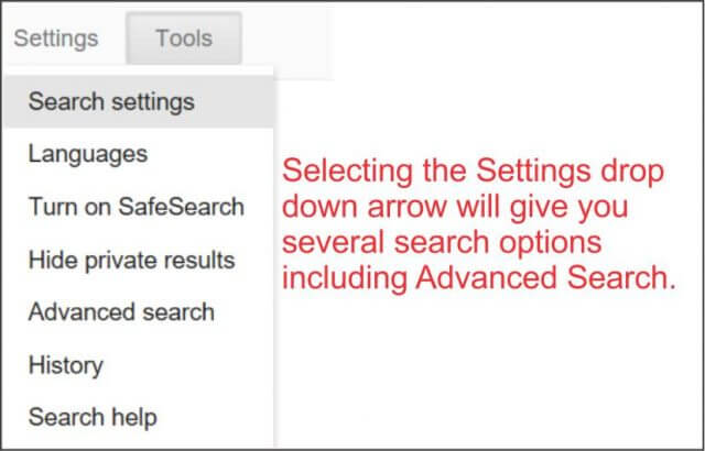 selecting-the-settings-option