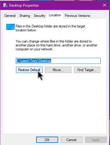 windows-10-properties-location-restore-default