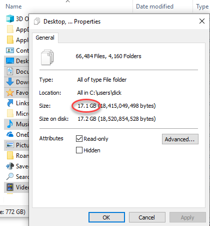 display-properties-for-selected-folders-to-determine-total-size
