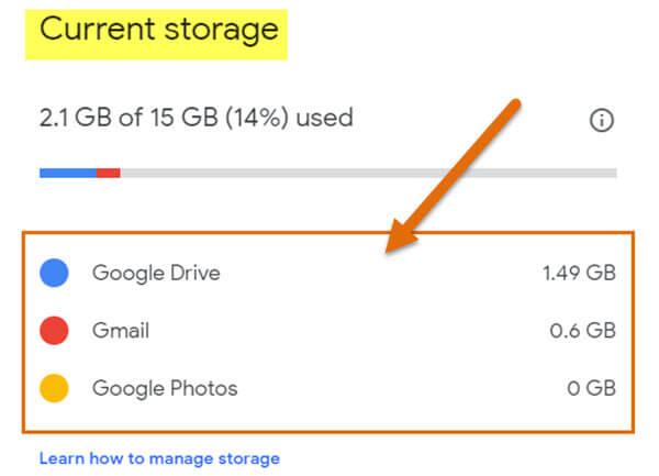 current-storage-screen