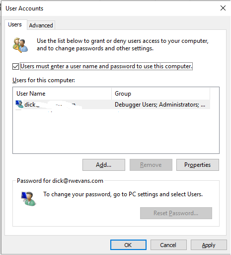 screen-to-remove-need-to-enter-a-password