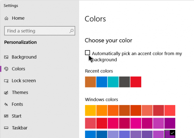 windows-10-personalize-option-automatic-pick-accent-color