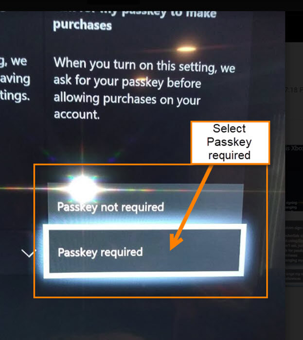 passkey-required-option