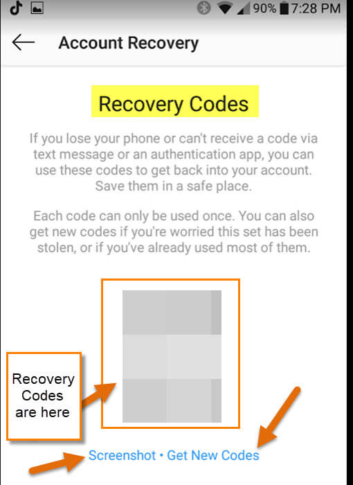 recovery-code-screen