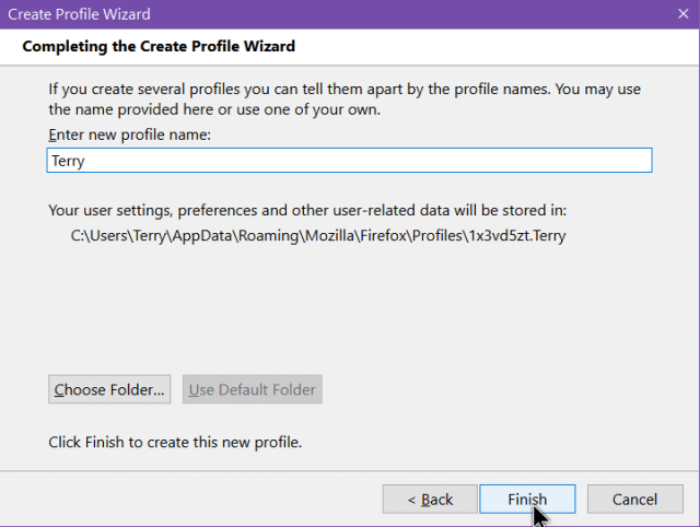 firefox-completing-the-create-profile-wizard