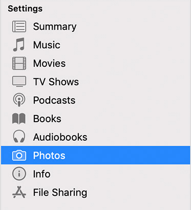 itunes-photos-option