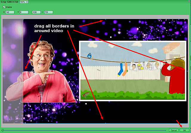 click-and-drag-in-borders-to-crop-video