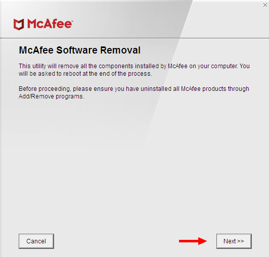 mcafee-software-removal-click-next