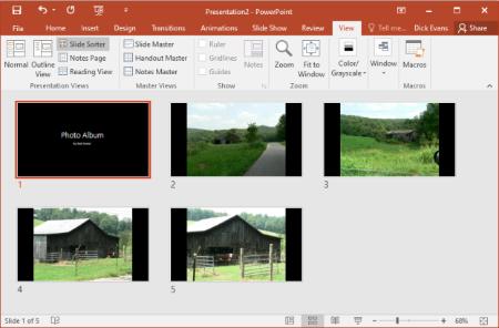 slide-sorter-view