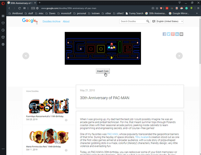 play-pacman-on-google