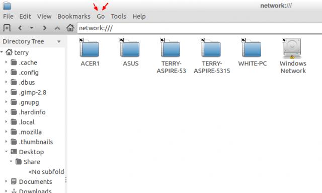 lubuntu-file-manager-showing-windows-network