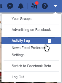 facebook-options-activity-log
