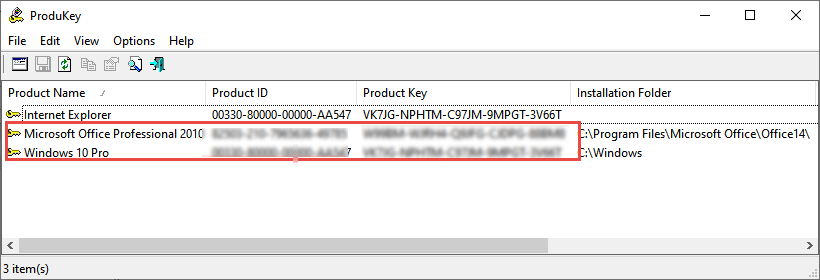 6 Windows 10 Product Key Finders | Daves Computer Tips