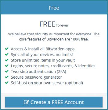 bitwarden-password-manager-free- features