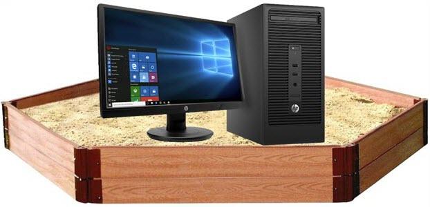 computer-in-a-sandbox