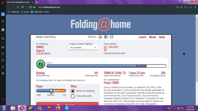 my-folding-at-home-screen-opera-browser