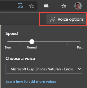 edge-voice-options-menu