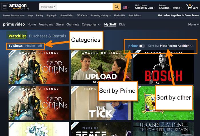 Amazon Watchlist