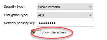 select-show-characters