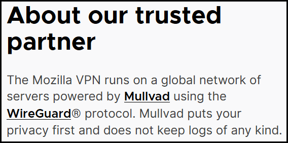 about Mullvad