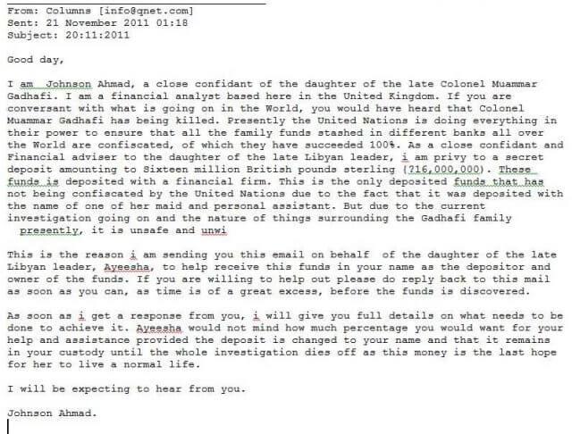 scam-letter-gaddafi