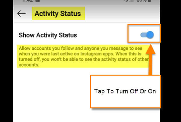 activity-status-screen