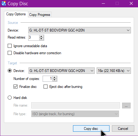 disc-copy-options