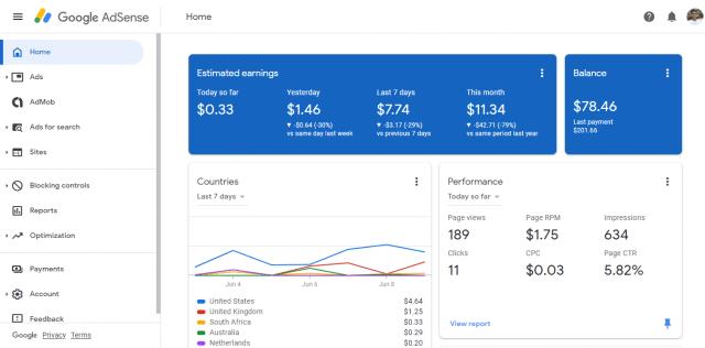 Google_AdSense_Screenshot