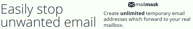 Mailmask Easily Stop Unwanted Email