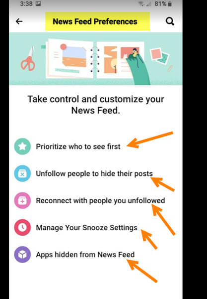 news-feed-settings-screen