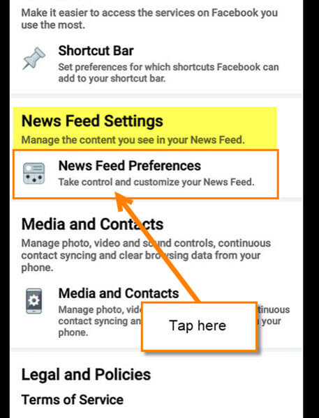 news-feed-settings