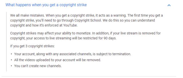 copyright-strike