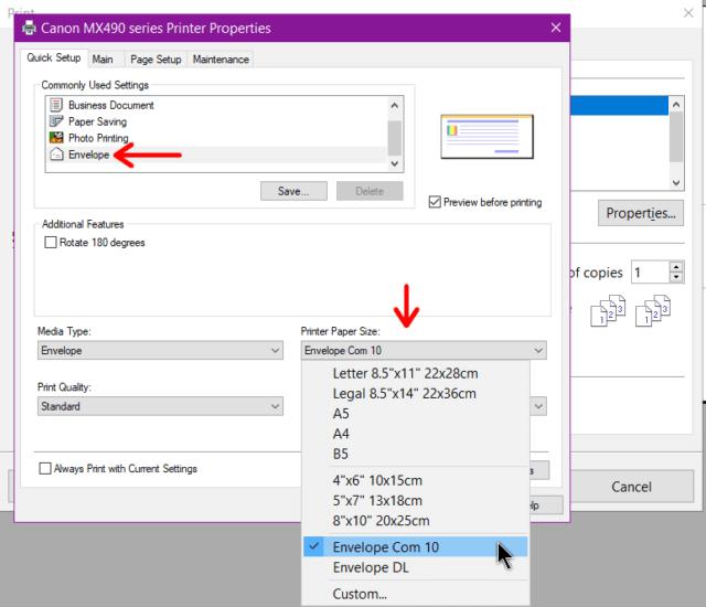 canon-mx490-envelope-printer-options