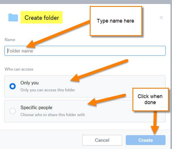 create-folder-window